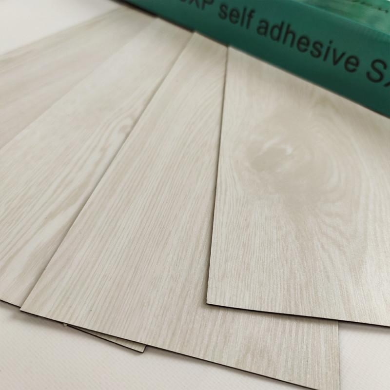 Самоклеящаяся виниловая плитка молочное дерево, цена за 1 шт. (мин. заказ 15 штук)