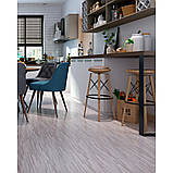 Самоклеюча вінілова плитка сіро-бежева, ціна за 1 шт. (мін. замовлення 15 штук), фото 2