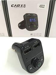 FM Модулятор с блютузом FM-X8 ART-4522 (100 шт/ящ)