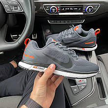 Мужские кроссовки текстильные Nike Zoom GUIDE 10 Gray