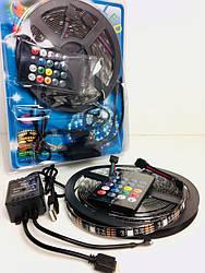 LED 5V 5050 + микрофон, музыкальный RGB Комплект ART-7373 (50 шт/ящ)