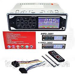 Автомагнитола MP3 3882  ISO 1DIN сенсорный дисплей (20 шт)