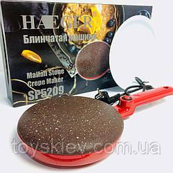 Электроблинница HG 5209 окружность 20 см, Мощность 650 Ватт  (16 шт/ящ)