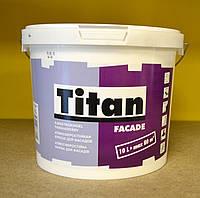 Атмосферостойкая матовая акриловая краска для фасадов Facade Titan Eskaro ( 5 л), фото 1