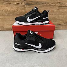 Мужские кроссовки текстильные Nike Zoom GUIDE 10  Black