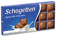Немецкий шоколад Schogetten Alpine Milk Chocolate 100g