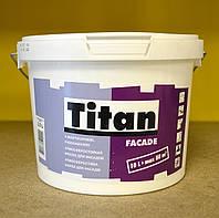 Атмосферостойкая матовая акриловая краска для фасадов Facade Titan Eskaro (2, 5 л), фото 1
