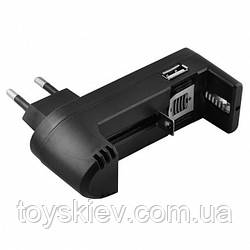 Сетевые зарядные устройства для одного  Аккумуляторов 18650  BL 011/CL 001