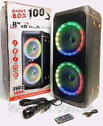 Акустическая система BOX 100/ 0808+ 1 микрофон + BT ART 20-30 (1 шт/ящ)