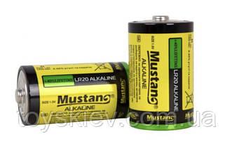 Батарейка щелочная Mustang LR20 ( техника/D/1.5V/2шт )