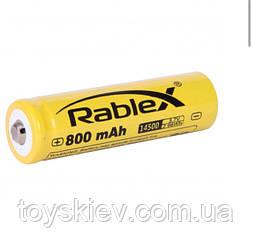 Аккумуляторы Rablex RB-14500  ( 14500/3.7V/800mAh )