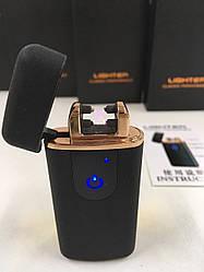 Электроимпульсная usb зажигалка с зарядкой от USB ZA-751/5409 (100 шт/ящ)