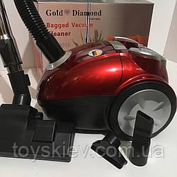 Электро Пылесос Gold Diamond TK-00016/ 220V/3200W (4 шт/ящ)