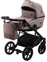 Дитяча універсальна коляска 2в1 Bair Kiwi Soft BKS-455 капучіно - капучіно (шкіра), фото 1