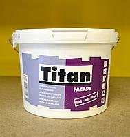 Атмосферостойкая матовая акриловая краска для фасадов Facade база TR  Titan Eskaro (2,25 л)
