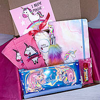 "Подарочный набор с красивой канцелярией Wow Boxes ""Unicorn Box # 17"""