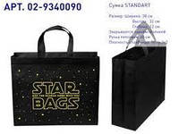 "Еко сумка ВОХ (02) standart ""STARBAGS"". Арт. 02-9340090. КОРОТКА РУЧКА"