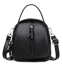 Рюкзак-сумка Sujimima серебро