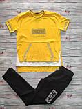 Жіночий літній костюм з брюками з трикотажу *Cignet* (Туреччина); розмір ХЛ---3ХЛ, 4цвета, фото 2