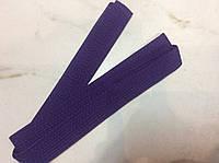 Пояс для кимоно фиолетовый 265 см