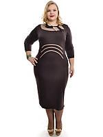 Женское платье больших размеров 48-62,модель ДК 530, фото 1