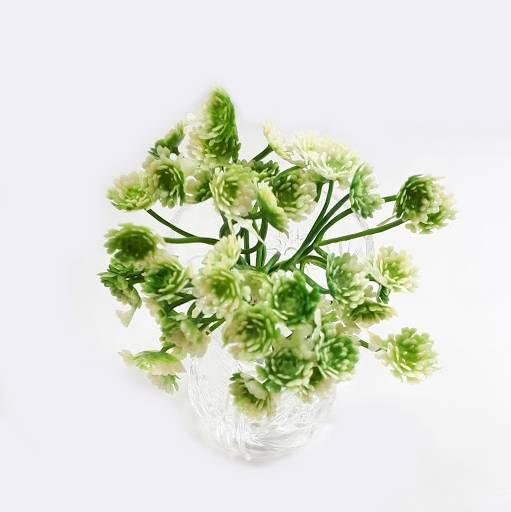 Мелкая искусственная зеленая добавка к букетам