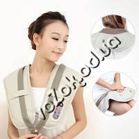 Ударный вибромассажер для спины, плеч и шеи Cervical Massage Shawls, фото 1