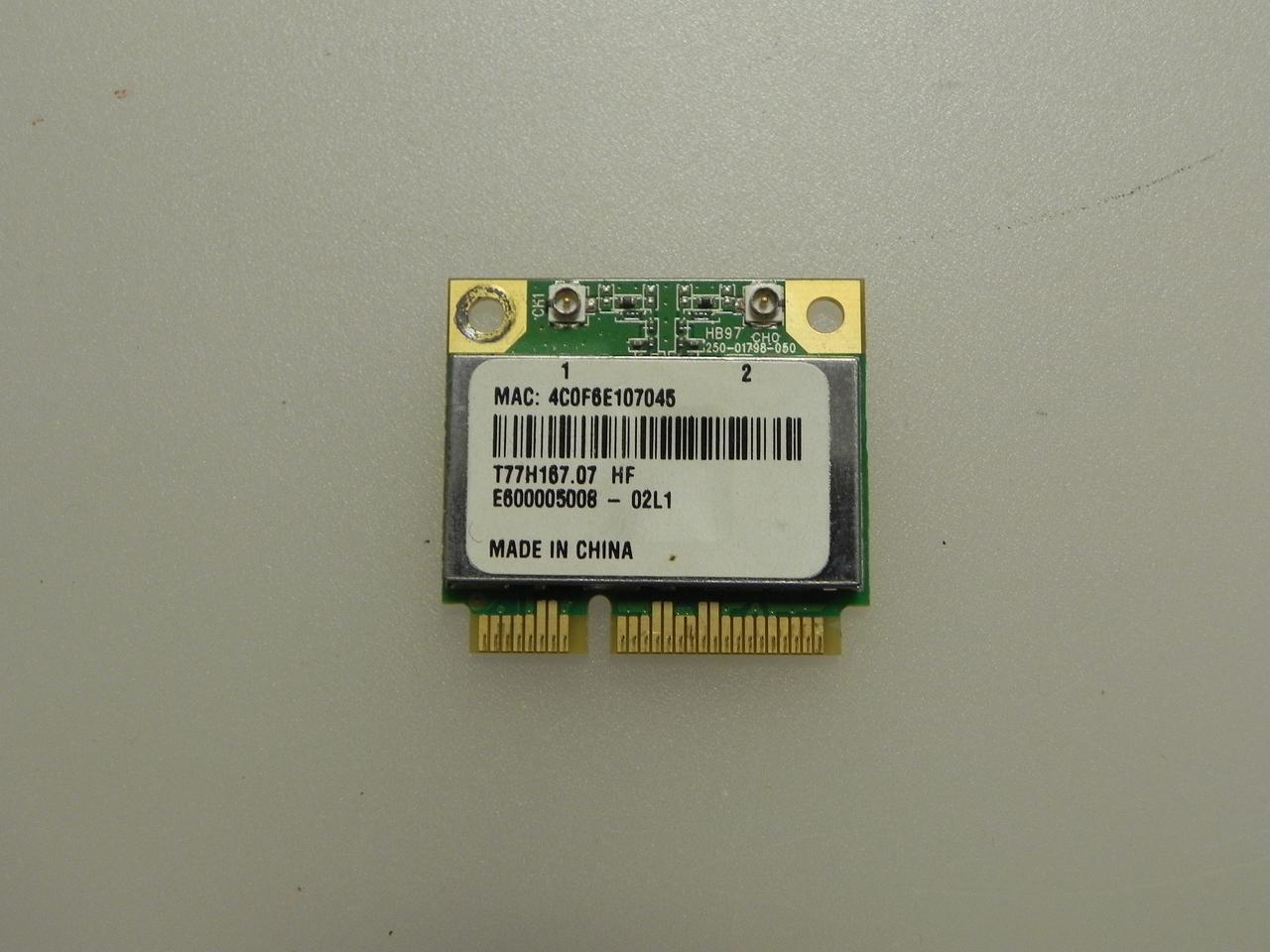 Плата wi-fi AR5B97, Acer Aspire 5742, 5742ZG, PEW71 бу