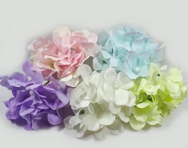 Искусственные цветы (головки) для оформления интерьера ,рукоделия.