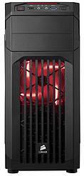 Корпус Corsair Carbide SPEC-01 Red LED Black (CC-9011050-WW) без БП