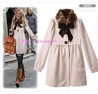 Пальто с меховым воротником из сериала Gossip Girl - Блейк Лавли