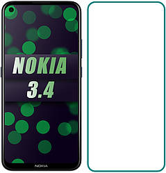 Защитное стекло Nokia 3.4 (Прозрачное 2.5 D 9H) (Нокиа 3.4)
