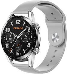 Ремешок Base для Huawei Watch GT 2 46mm Grey (22 мм) (Хуавей Вотч ГТ 2 46 мм)