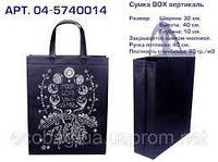 """Эко сумка BOX (04) vertikal """"Лунные фазы"""". Арт. 04-5740014. КОРОТКАЯ РУЧКА"""