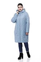 Демисезонная женская куртка ORIGA Леона 56 Морской зеленый 02LEONA-морской56, КОД: 1469575