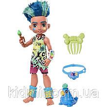 Кукла Пещерный клуб Слейт с прядью и питомец Тэгги Cave Club Slate GNL87