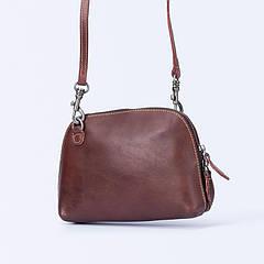 Новая модель кожаной бордовой сумки пополнила наш ассортимент.