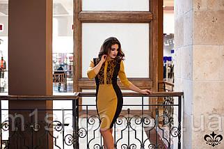 Платье со вставками | Саваж lzn, фото 3
