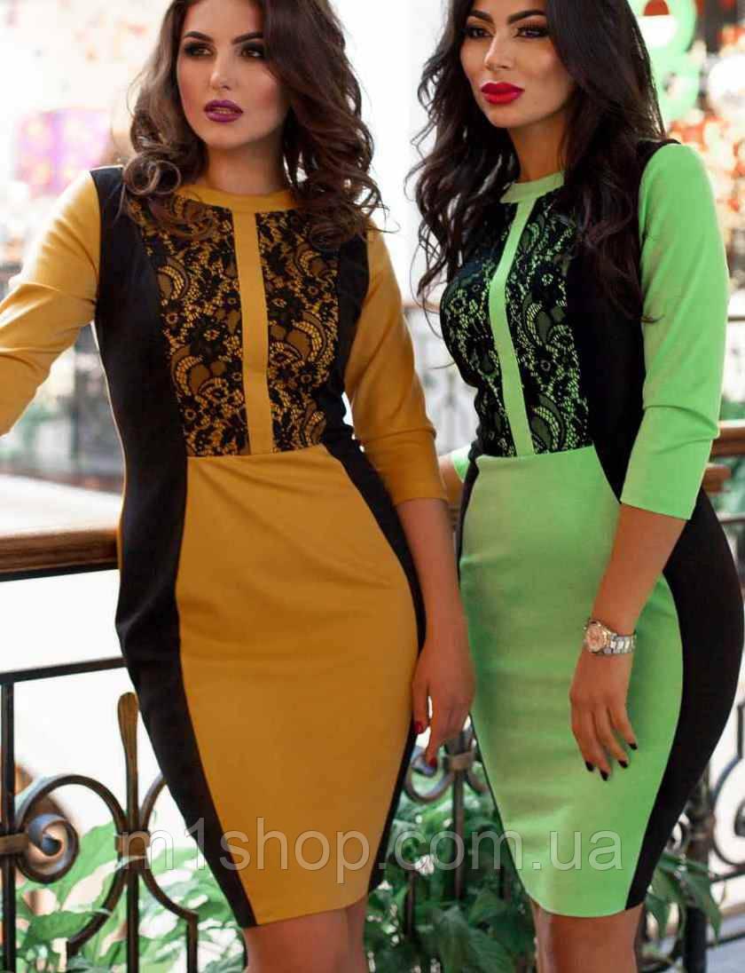 Платье со вставками | Саваж lzn