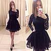 Кружевное платье с пышной юбкой, фото 2