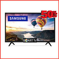 Телевизор Samsung Smart TV 2021 Самсунг 4K 32 UHDTV, LED, IPTV, T2, Android 9 Смарт ТВ Android9 (Андроид)