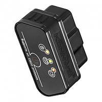 Диагностический сканер KONNWEI KW901 OBDII Black Bluetooth 3.0 автомобильный для Android