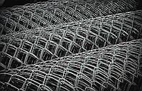 Рабица стальная без покрытия (компактный рулон) Ф 1,6 - 55 мм х 55 мм - 1,2х10 м