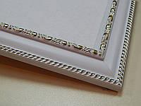 Рамка А3 (297х420).Белый с орнаментом.30 мм.