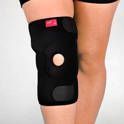 Наколенник неопреновый с открытой коленной чашечкой и силиконовым кольцом, универсальный - Ersamed ERSA-201