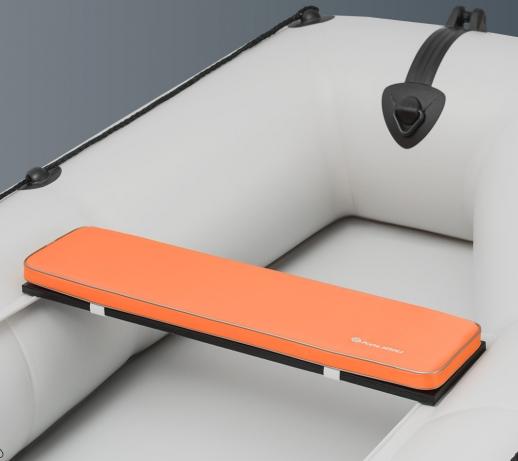 Накладка на банку мягкая для надувных лодок Kolibri K-280CT, К-300СТ, КМ-200, КМ-260, КМ-280 оранжевая