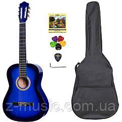 Гитара классическая 4/4 Olive Tree CG-39 BL (чехол, медиатор, копилка, струна, ключ)