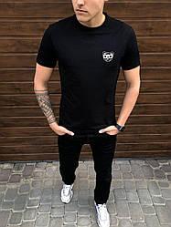 Мужская футболка Peremoga -Mishka Pobedov (черная)