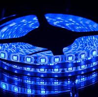 Светодиодная LED лента SMD-5050 60 pcs 14,4W 12V Синий | Лед лента бабина синий цвет