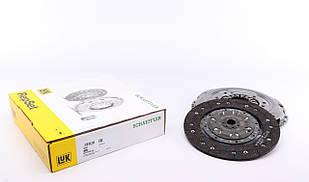 Комплект зчеплення Fiat Doblo 1.6 D Multijet 10- (d=240mm) LuK (Німеччина) 624 3742 09